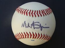 Mark Shapiro Signed  Baseball  AUTOGRAPHED COA