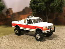 1994 Ford F-150 4x4 Truck Lifted 1/64 Diecast Custom Farm Off Road Mudder 4WD