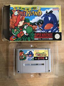 Super Mario World 2 Yoshi's Island SNES Super Nintendo PAL, Boxed