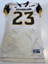 Game Worn Used Southern Mississippi Golden Eagles Football Jersey Large #23