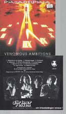 CD--PHILADELPHIA VENEMOUS AMBITIONS