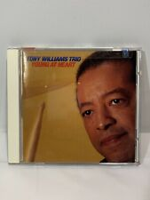 TONY WILLIAMS TRIO : Young At Heart CD 1996 COLUMBIA CK69107 DSD 🔥🚐