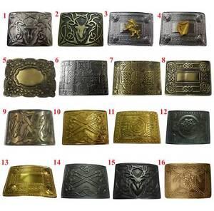 Men's Scottish Kilt Belt Buckle Various Design/Highland Kilt Belt Buckles Celtic