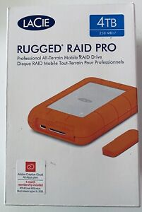 LACiE RAID PRO 4TB, 250MB/s Rugged Design Brand New