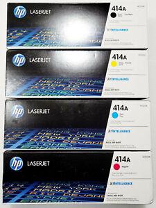 US SELLER HP 414A LaserJet Toner Set W2020A W2021A W2022A W2023A BYCM NIB
