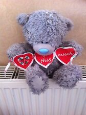 Me To You 9 Inch Love U This Much Bear Holding Bunting banner