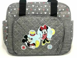 Baby Diaper Nappy Changing Bag With Changing Mat Travel Outdoor UK - GREY