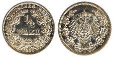 1/2 Mark 1906 A Germania Germany Argento Silver #7107