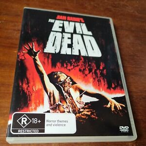 The Evil Dead DVD 2010 Bruce Campbell Sam Raimi's R18+ Region 4 Horror Onslaught