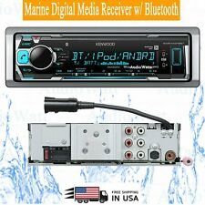 NEW Kenwood KMR-M318BT Marine Digital Media Receiver w/ Bluetooth Car Stereo