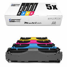 5x Eurotone ECO Toner für HP Color LaserJet CP-2025-N CM-2320-CI CM-2320-EBB