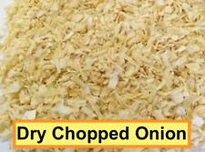 DRY CHOPPED ONION, 1 oz - 12 oz, Dehydrated Onion Flakes, US SELLER