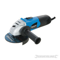 """SILVERLINE 650W 4.5"""" 115mm ELECTRIC ANGLE GRINDER CUTTING GRINDING TOOL NEW"""