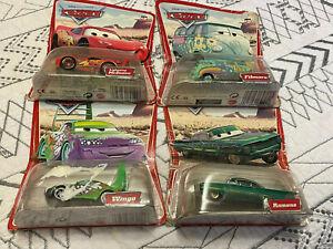 Disney Pixar Cars Desert (Original) Series Wingo, Filmore (Error), Ramone, LMQ