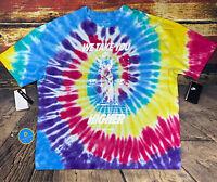 Mens Nike Tie Dye We Take You Higher Oversize Loose T-Shirt Travis Scott Sz XL