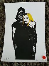 Darth Vader Madonna. Amarillo por Sia Ltd/100 signo/num. dismaland