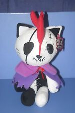 """Gothic Hangry & Angry Ghost of death Cloak Purple Plush Doll 26cm 10.4"""" TAITO"""