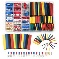 678PCS Assorted Crimp Spade Terminal Insulated Electrical Wire Connector Kit