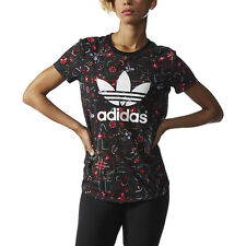 Adidas Women's Moscow Printed Tee All Over Print T-Shirt AB2725 NEW!
