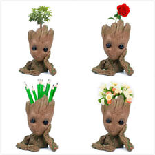 """Guardians of The Galaxy Vol. 2 Baby Groot 7"""" Figure Flowerpot Style Toy Gift UK"""
