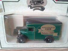 LLEDO DIECAST MODEL VAN CLUB MODEL 1989