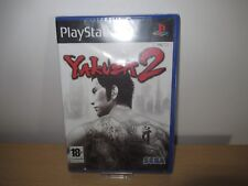 Yakuza 2 Playstation 2 PAL VERSION ESPAÑA PS2 NUEVO PRECINTADO
