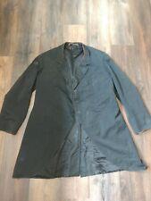 Original 1850-1890s Civilian Black Dress Frock Coat Civil War, Victorian,.