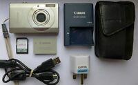 Canon PowerShot Digital ELPH SD790 is ( IXUS 90 ) 10.0MP Camera 4 GB Memory Card