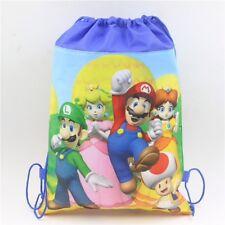 Super Mario PE Gym Sport Swimming Dancing Draw String Bag