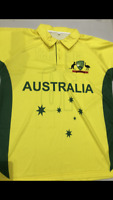 Australia one day international world cup  cricket jersey brand new