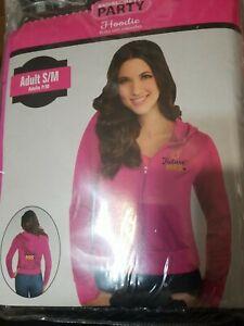 "Bachelorette Party Women's Pink ""Future Mrs."" LS Hooded Jacket S/M #1121"