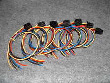 "One Orion Speaker Harness Plug Old School OEM Color Wire 24"" New GX SX HCCA NT"