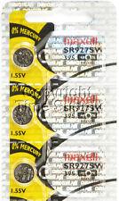 Maxell 395 SR927SW SR927 V395 D395 LA Watch Battery 0% MERCURY ( 3 PC )