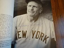Casey Stengel Signed Casey Stengel's Secret Softcover Book PSA/DNA Autograph