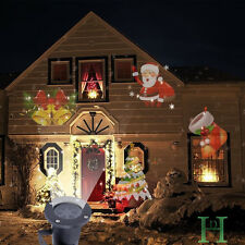 Xmas Waterproof Moving Laser Projector LED Lights Outdoor Landscape Decor Lamp