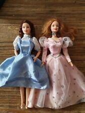 Mattel BARBIE - WIZARD OF OZ Dorothy & Glinda