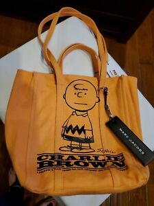 Marc Jacobs The Tag Tote Charlie Brown NWT $325