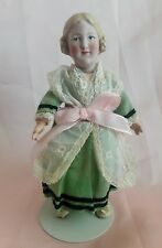 "Rare Antique German Lady Doll All Orig.#7364 Coiled Braids71/2""Gebruder Heubach"