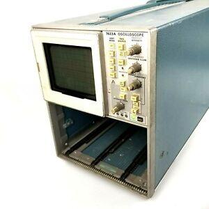 Tektronix 7623A Oscilloscope 100 MHz Multi Mode Storage Scope For Parts