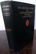 The Japanese Letters Of Lafcadio Hearn / First Edition 1910