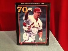 Limited Edition-1999 Mark McGwire 70!-Bradford Exchange Plate