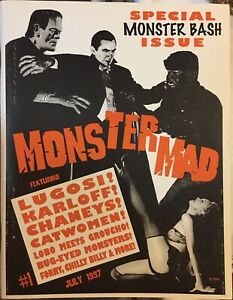 Monster Mad #1 July 1997 Special Monster Bash Issue