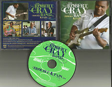 ROBERT CRAY BAND Trouble & pain  2009 USA PROMO RADIO DJ CD single MINT and