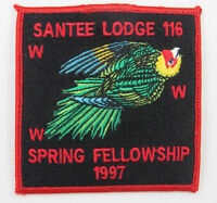 OA Lodge 116 Santee eX1997-1, Fdl; Spring Fellowship [D1777]