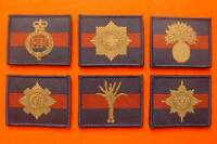 Velcro Guards Division Unit / ID TRF Patch Household / Guards Brigade TRF