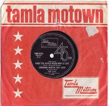 R&B & Soul Motown 1st Edition 45 RPM Vinyl Music Records