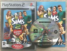 Les Sims 2 : Animaux & cie COMPLET (PS2)