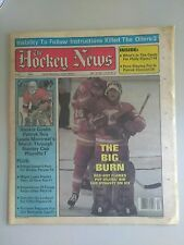The HOCKEY NEWS PAPER / MAGAZINE May 16, 1986 1986 Vol 39 # 33 Patrick Roy Cup