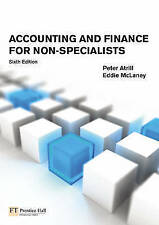 Accounting and Finance for Non-Specialists (6th Edition)-ExLibrary