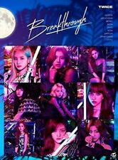 TWICE Breakthrough first press A B + normal CD set box DVD Card JapanNEW